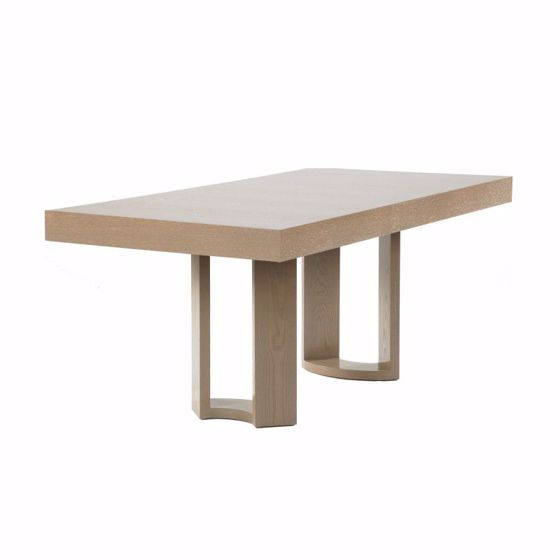 """Picture of DT-166 RECTANGULAR DINING CONFERENCE TABLE WITH 4"""" THICK OR MODIFIED RECESSED TABLE APRON"""